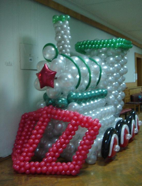 Аэродизайн. Оформление праздников воздушными шарами.